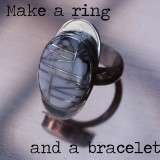 Make a ring and a bracelet