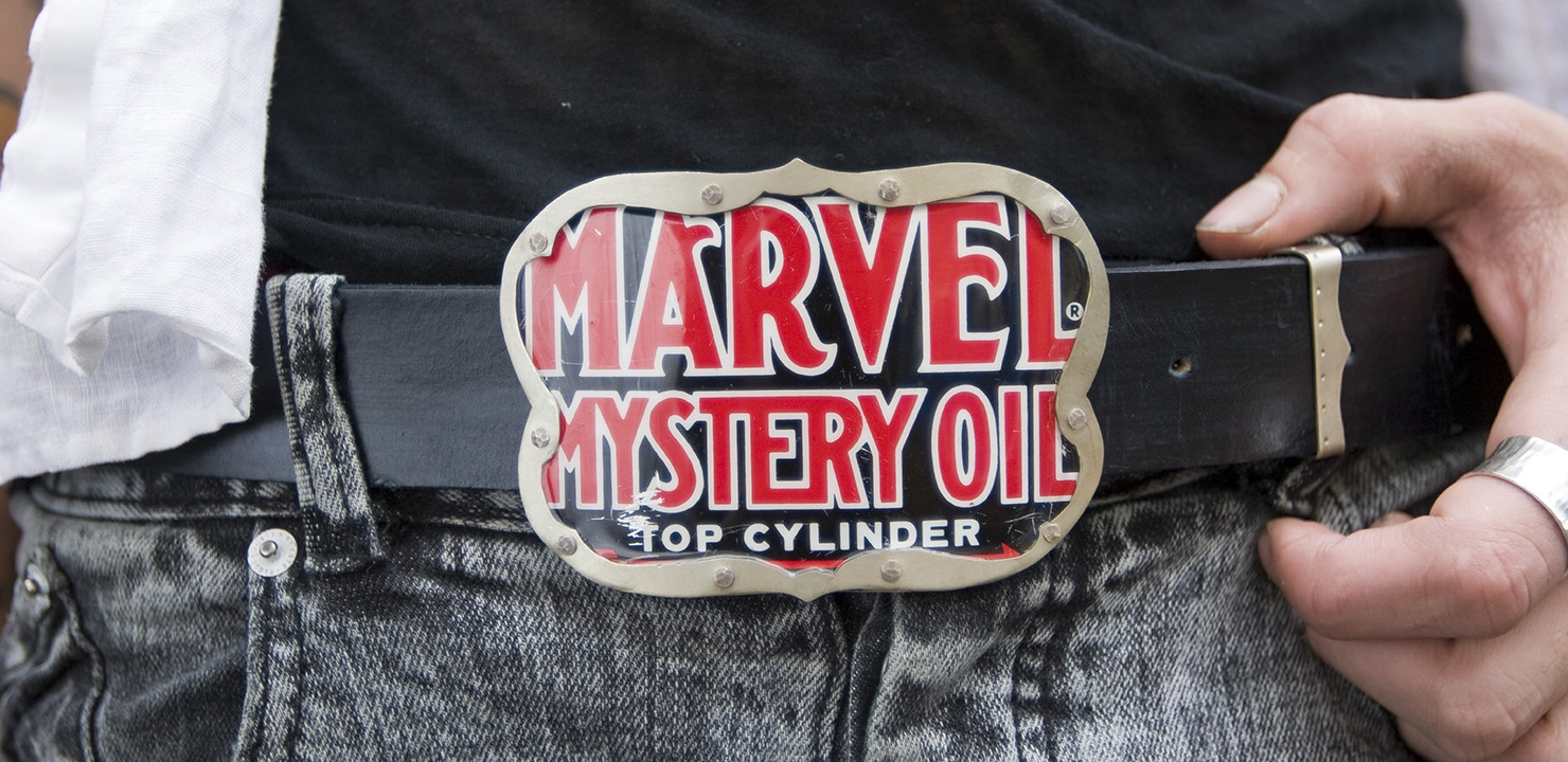 Marvel Belt Buckle