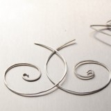 3 pairs wire earrings workshop